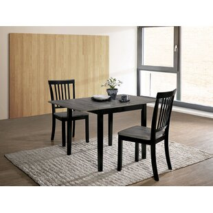 Shala 3 Piece Drop Leaf Dining Set Red Barrel Studio