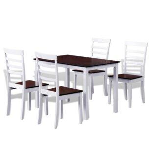 5 Piece Dining Set by Winston Porter