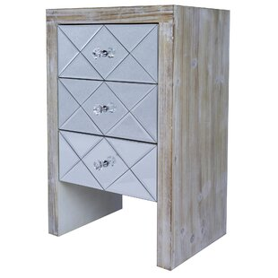 Marci 3 Drawer Accent Chest