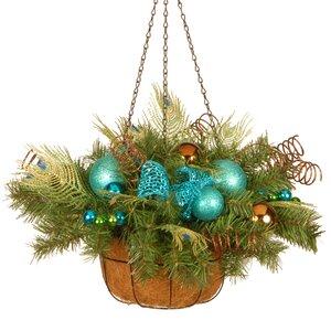 Decorative Peacock Hanging Basket