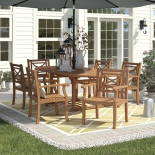 Brunswick 7 Piece Teak Dining Set