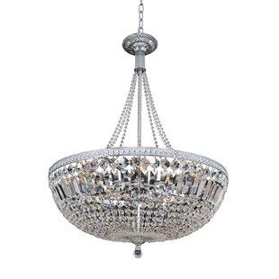 Allegri by Kalco Lighting Aulio 11-Light Bowl Pendant