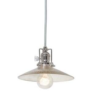 Edgar 1-Light Antique Mercury Mini Pendant