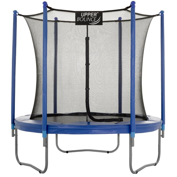 Upper Bounce 7 5 Round Trampoline With Safety Enclosure
