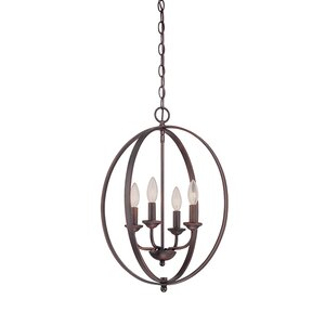 4-Light Foyer Pendant by Millennium Lighting