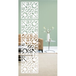 WallPops! Royal Palace 4 Panel Room Divider (Set of 4)