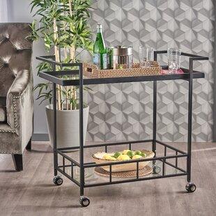Ivy Bronx Antunez Indoor Bar Cart