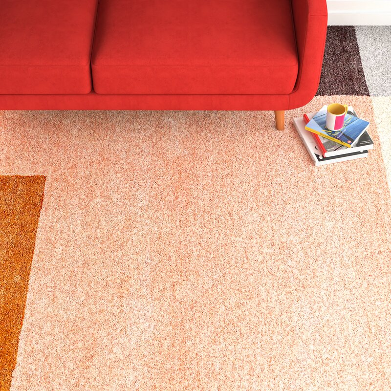 Element Hand Tufted Wool Blush Area Rug Amp Reviews Allmodern