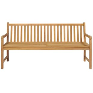 Verlyn Teak Bench By Sol 72 Outdoor