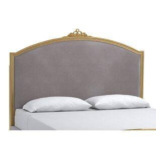 Cynthia Rowley Antoinette Gilded King Upholstered Panel Headboard