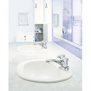 Moen M-PRESS Two Handle Centerset Bathroom Faucet