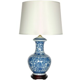 Porcelain Round Vase 24 Table Lamp