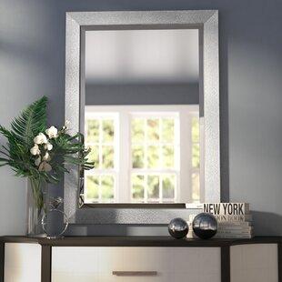 Beveled Rectangle Bathroom/Vanity Wall Mirror