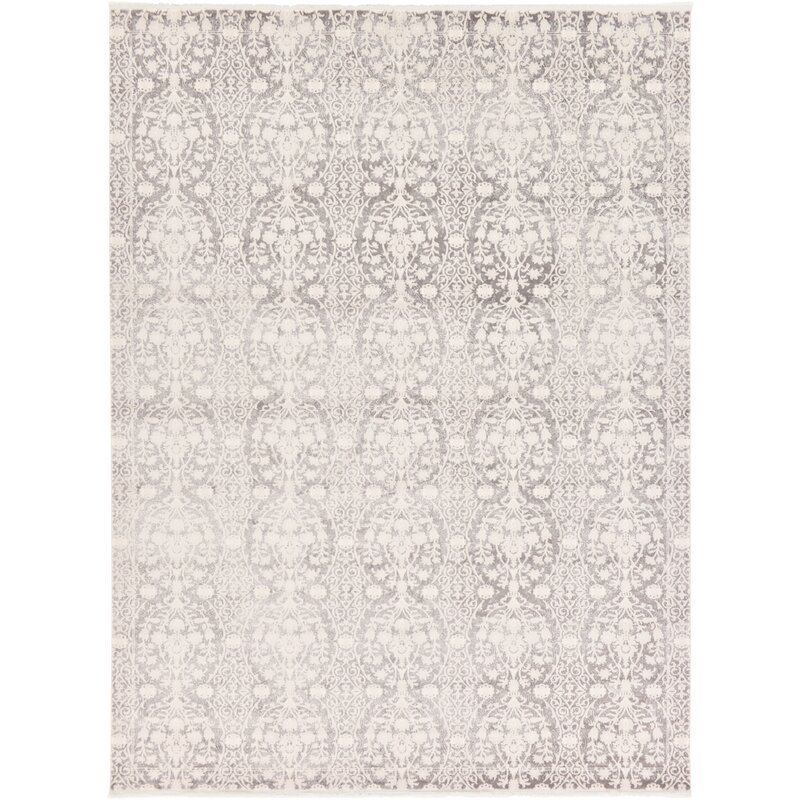 Patenaude Light Gray Area Rug