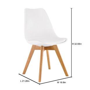 George Oliver Wunderlich Upholstered Dining Chair (Set of 2)