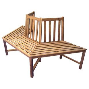Ovid Solid Wood Tree Seat By Union Rustic