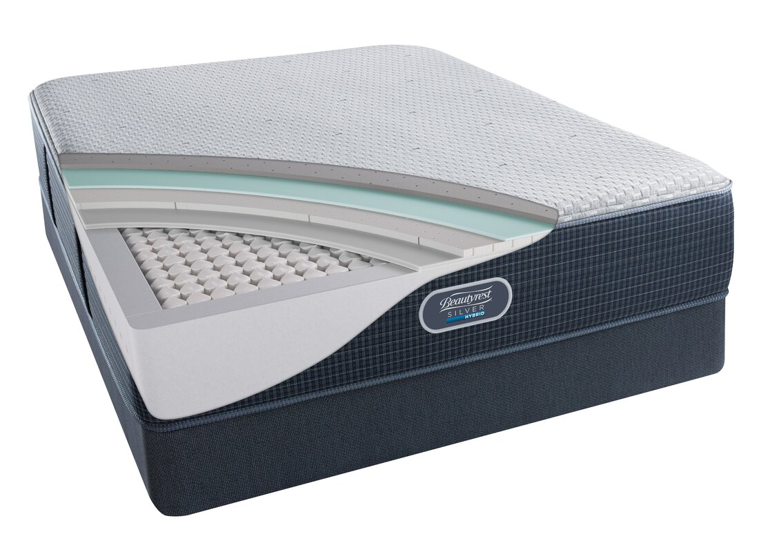 Simmons Beautyrest Beautysleep 13 5 Quot Firm Cooling Gel Memory Foam Mattress Set Amp Reviews Wayfair