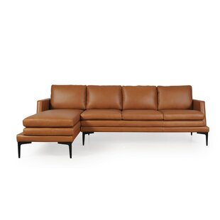 Arteaga Left Hand Facing Full Leather Sectional