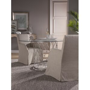 Royere Dining Table with Glass Top by Art..