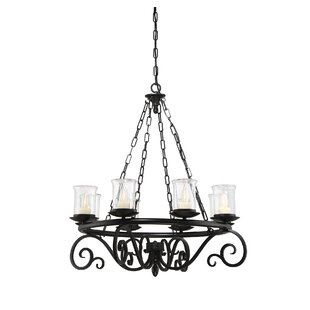 Darby Home Co Croghan 8-Light Shaded Chandelier