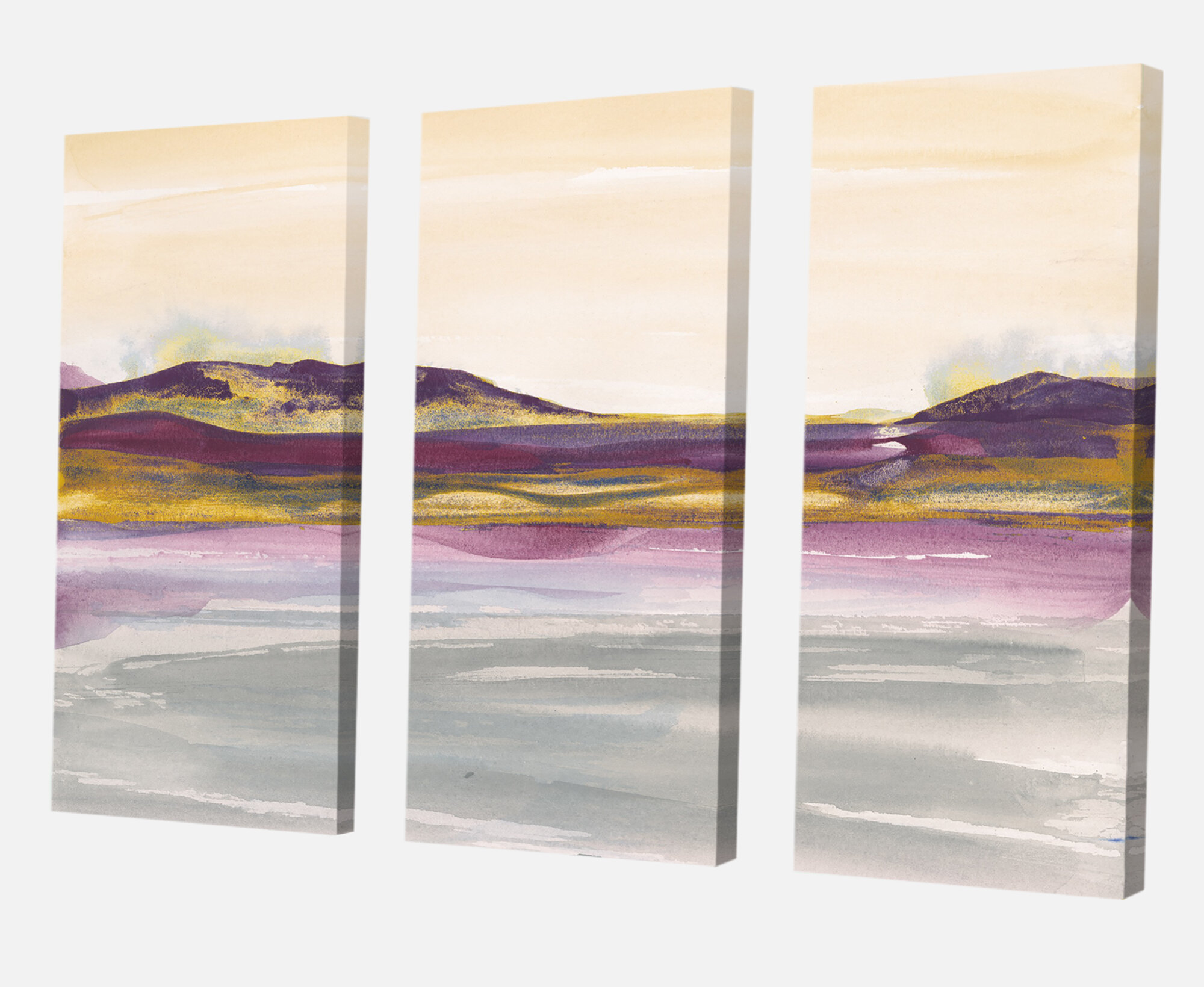 32 by 48-Inch ArtWall 2-Piece Cody Yorks Sedona 2 Floater Framed Canvas Set