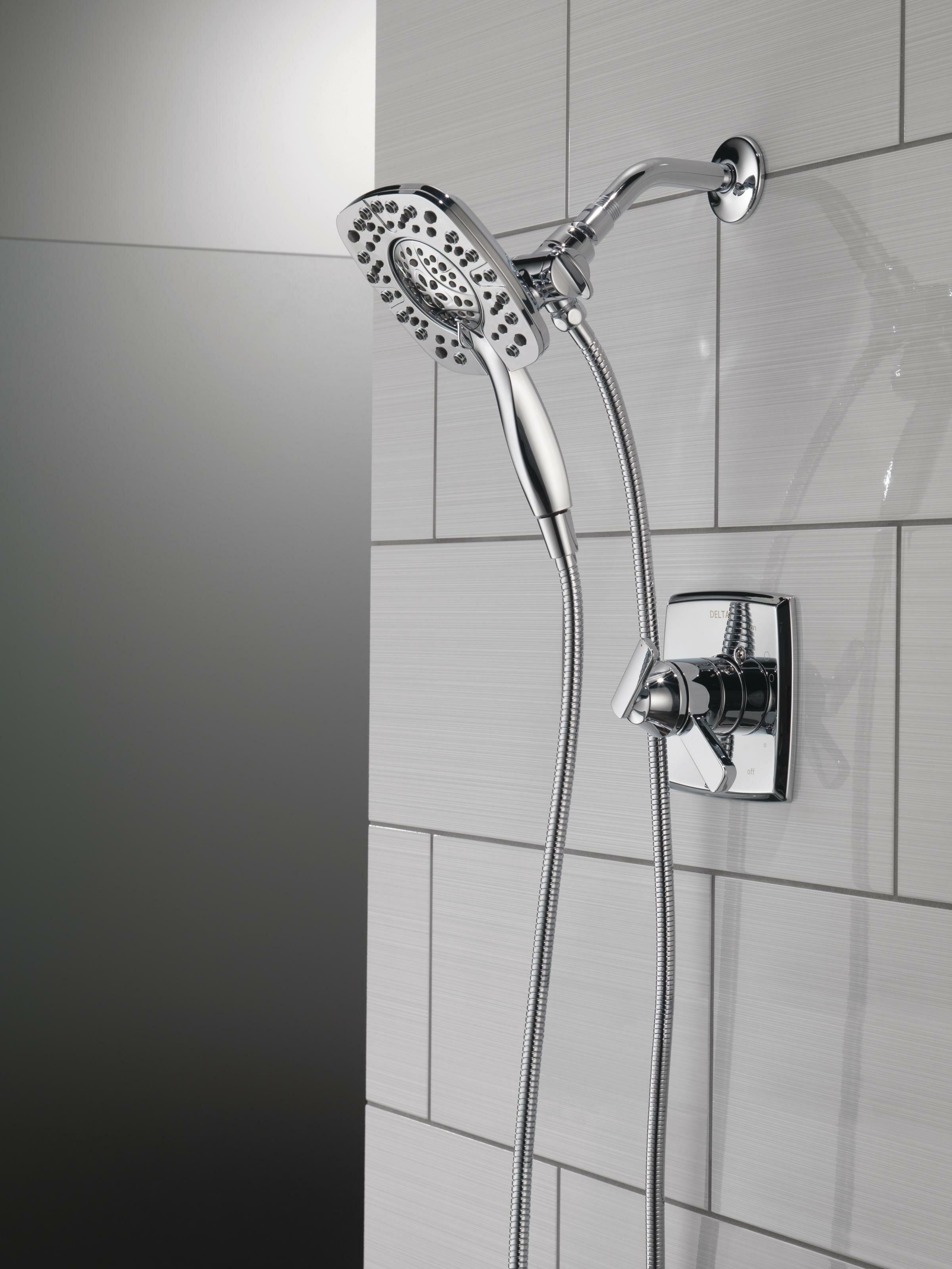 T17264 Ss I Rb I I Delta Ashlyn Pressure Balance And Temperature Control Shower Faucet Reviews Wayfair