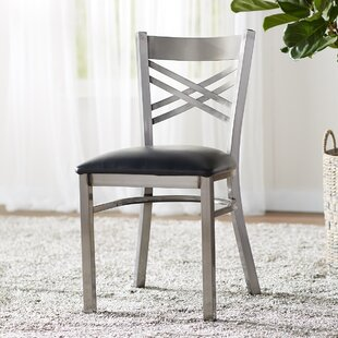 MacArthur Upholstered Dining Chair Ebern Designs