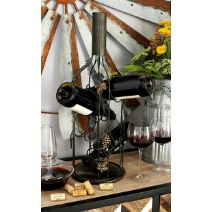 Metal 4 Bottle Tabletop Wine Bottle Rack ..