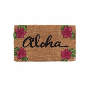 Aloha Doormat by Coco Mats N More