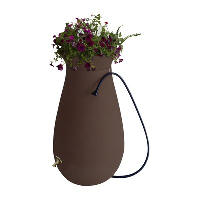 65 Gallon Rain Barrel Algreen Color: Dark Brown