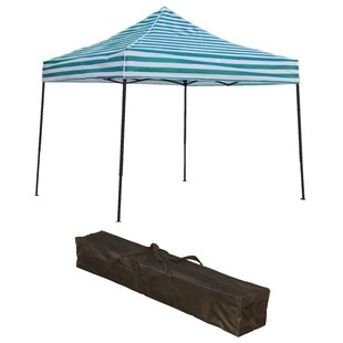 10 Ft. W x 10 Ft. D Aluminum Pop-Up Canopy by Trademark Innovations