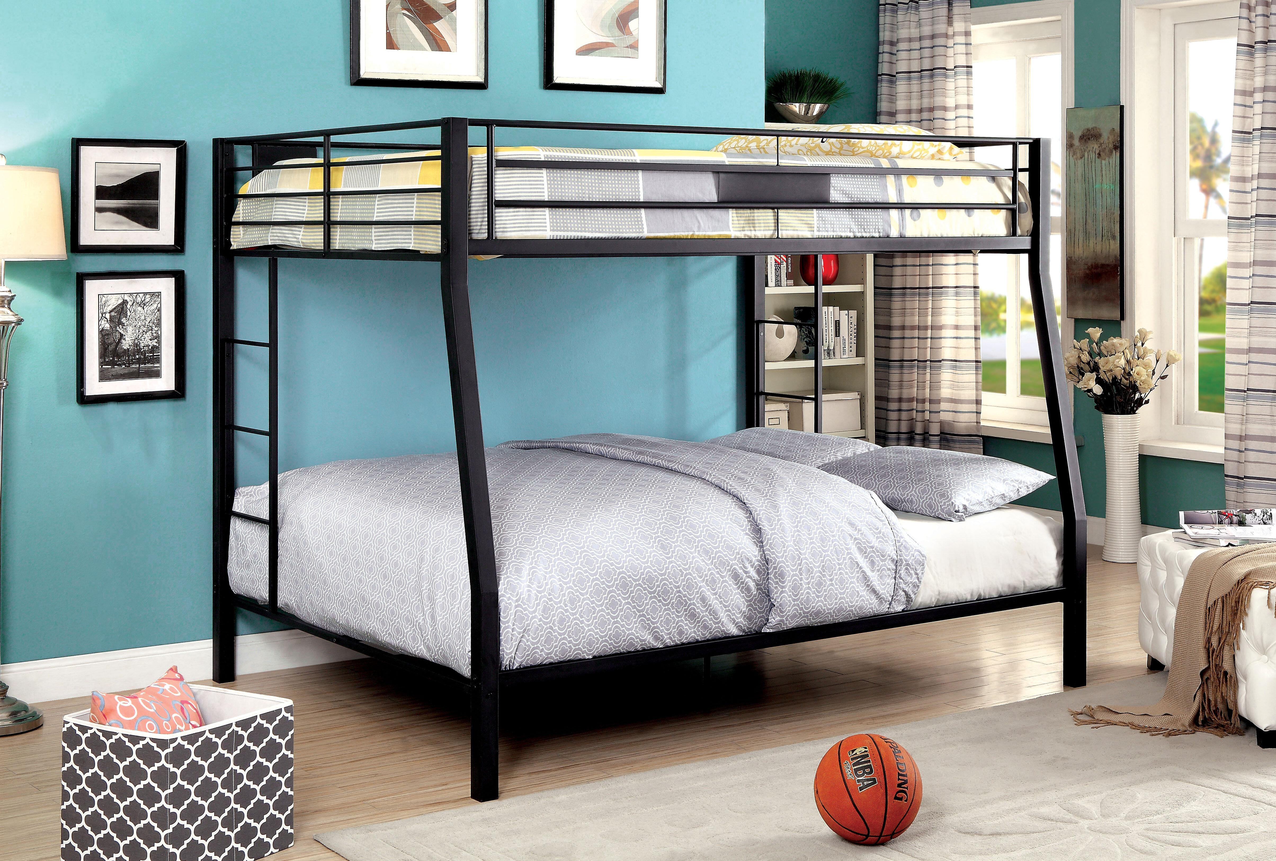 Picture of: Zoomie Kids Alfredo Full Over Queen Bunk Bed Reviews Wayfair