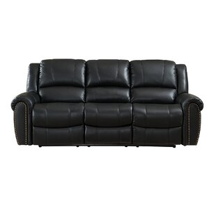 Amax Houston Reclining 2 Piece Leather Living Room Set