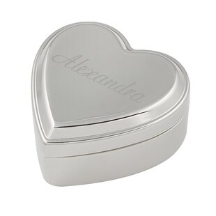 Find for Personalized Heart Keepsake Jewelry Box By Cathys Concepts