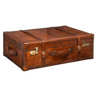 Bradburn Home Leather Trunk