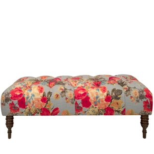 One Allium Way Morelle Garden Tufted Upholstered Bench
