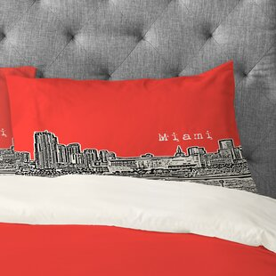 Bird Ave Miami Pillowcase