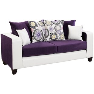 Latitude Run Dilorenzo Solid Wood Implosion Sofa