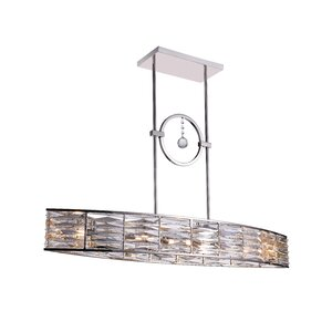 Squill 6-Light LED Drum Chandelier