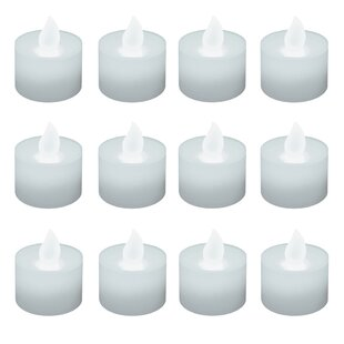 Unscented Tealights (Set of 12)