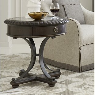 Russel End Table by Canora Grey