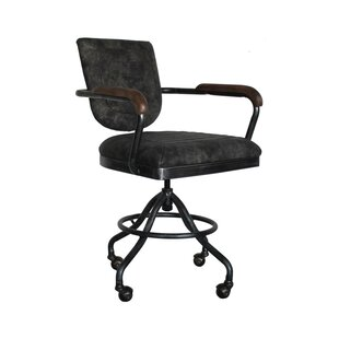 17 Stories Bailey Mid-Back Desk Chair (Set of 2)