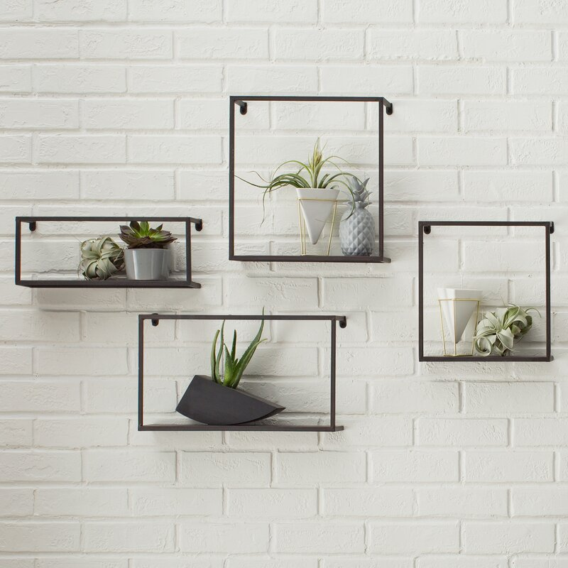 Holly And Martin 4 Piece Accent Shelf Set