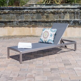 Royalston Outdoor Reclining Chaise Lounge
