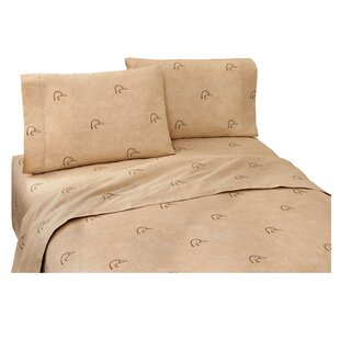 Plaid 180 Thread Count Sheet Set by Ducks Unlimited No Copoun
