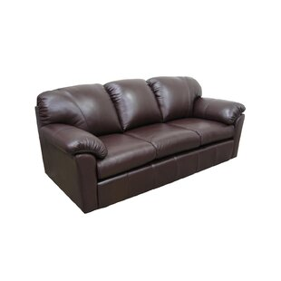 Tahoe Leather Sofa by Omnia Leather