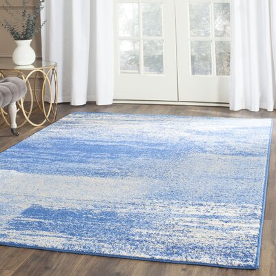 5 X 8 Blue Abstract Rugs You Ll Love In 2019 Wayfair