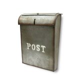 Emily Industrial Style Post Wall Mounted Mailbox byNACH