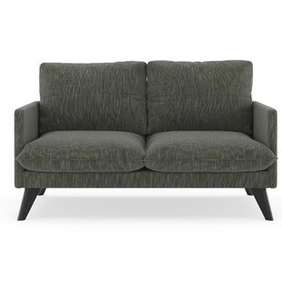 Covarrubias Twilled Weave Loveseat by Corrigan Studio
