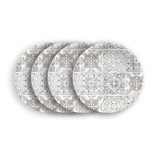 Portico Melamine Dessert Plate (Set Of 4) By Tar Hong